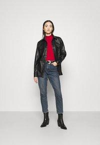 Even&Odd - Pullover - brick red - 1