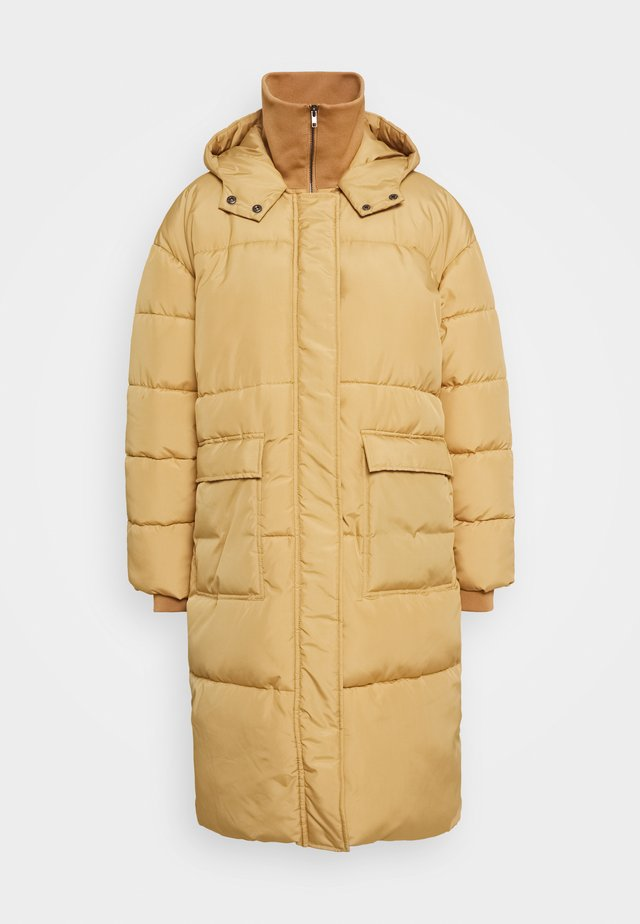 SRSIGNE PUFFER COAT - Winter coat - iced coffee