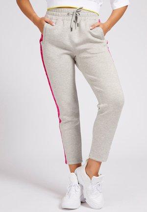 TUNNELZUG - Spodnie treningowe - mehrfarbig grau