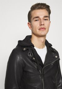 Freaky Nation - BE READY - Leather jacket - black - 5