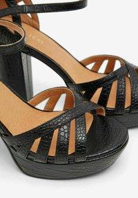 Bianco - BIACARLY - High heeled sandals - black - 5