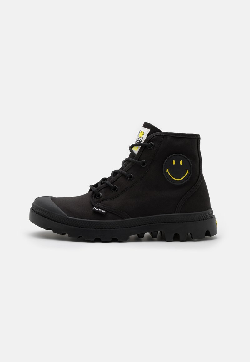 Palladium - PAMPA HI BE KIND UNISEX - Lace-up ankle boots - black