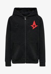 Hummel - ASTRALIS  - Zip-up sweatshirt - black - 0
