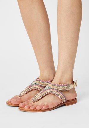 ITALA - T-bar sandals - multi
