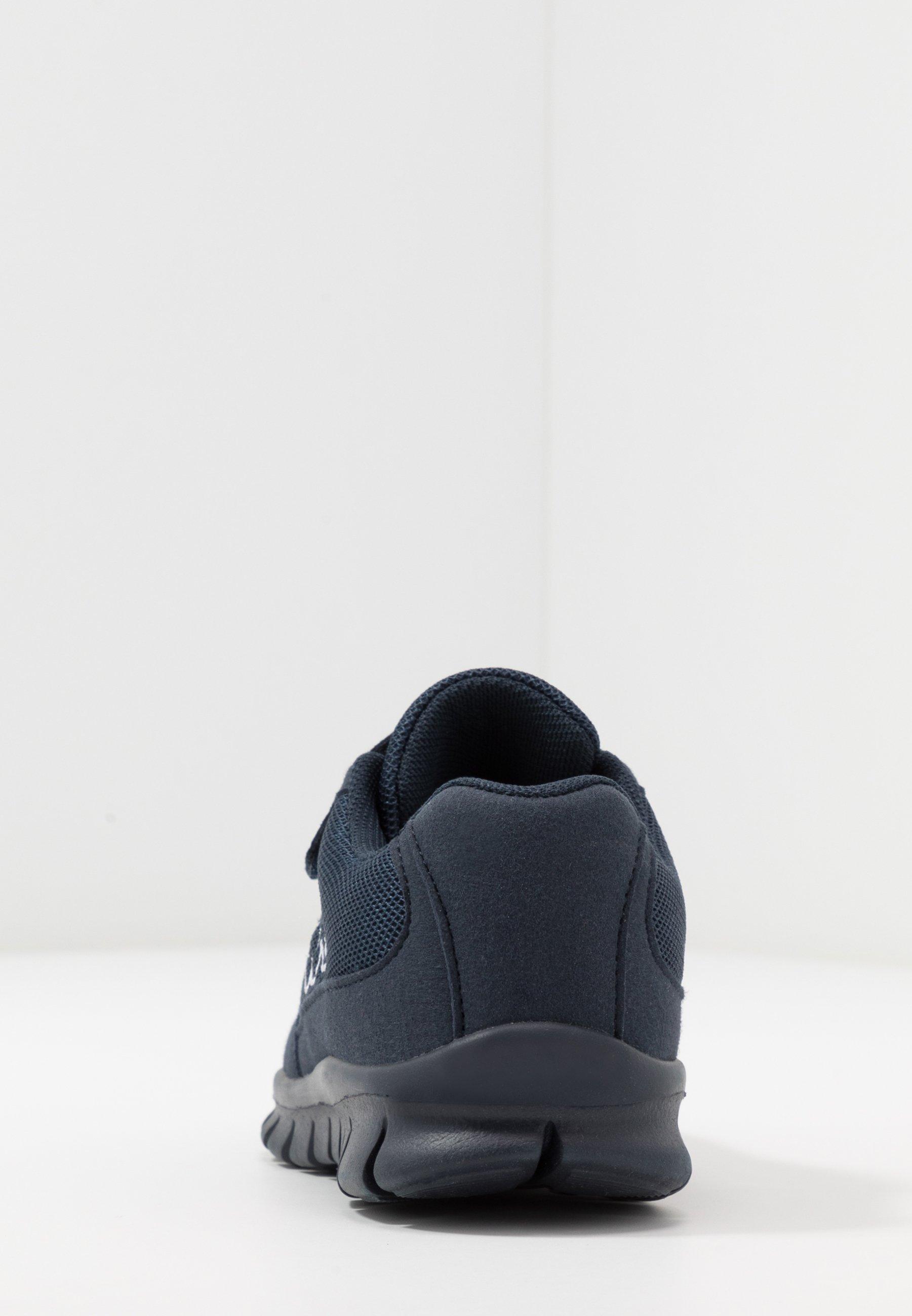 A hoy Kappa FOLLOW - Zapatillas de entrenamiento - navy/white   Zapatos para niños 2020 zPspp