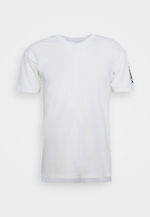 AEROREADY TRAIL RUNNING SHORT SLEEVE TEE - T-shirt med print - off-white