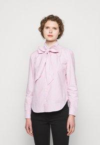 Polo Ralph Lauren - OXFORD - Button-down blouse - pink/navy - 0