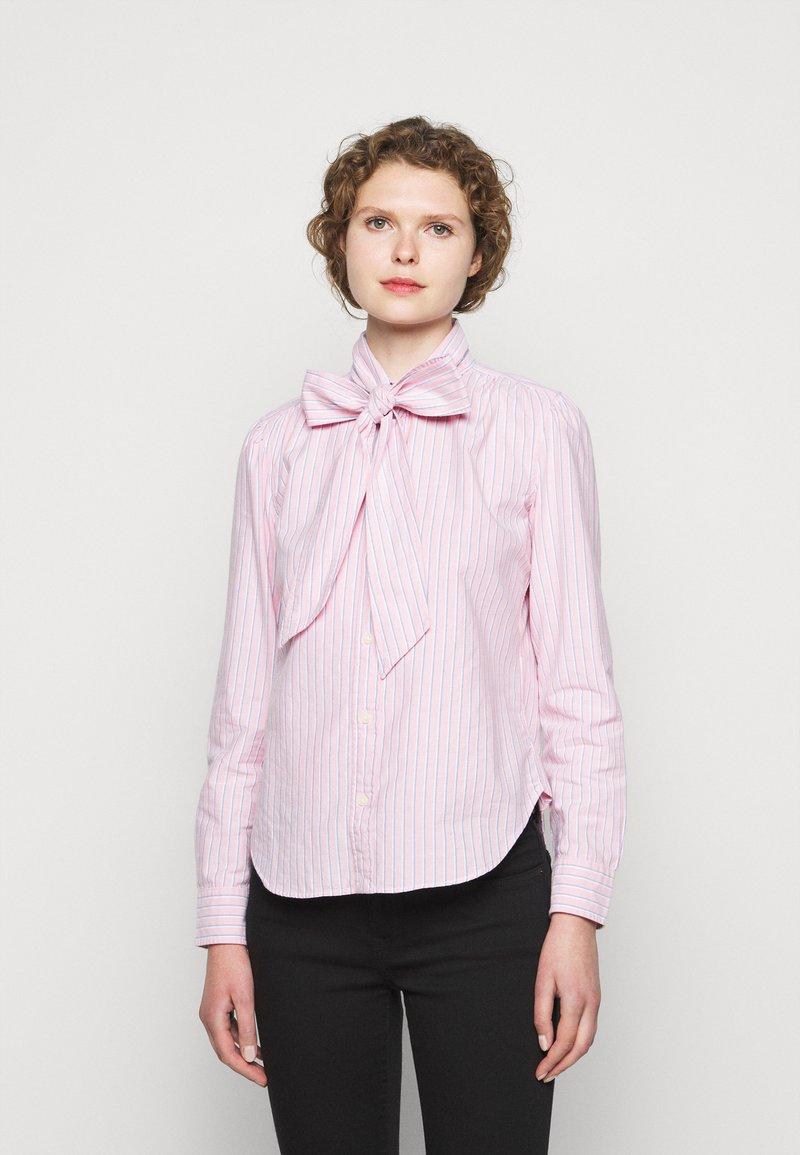Polo Ralph Lauren - OXFORD - Button-down blouse - pink/navy