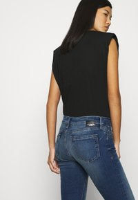 Mavi - LINDY - Slim fit jeans - dark brushed glam - 4