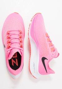 Nike Performance - AIR ZOOM PEGASUS 37 - Neutral running shoes - pink glow/black/platinum violet/white - 1