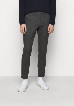 COMO SUIT PANTS - Suit trousers - charcoal