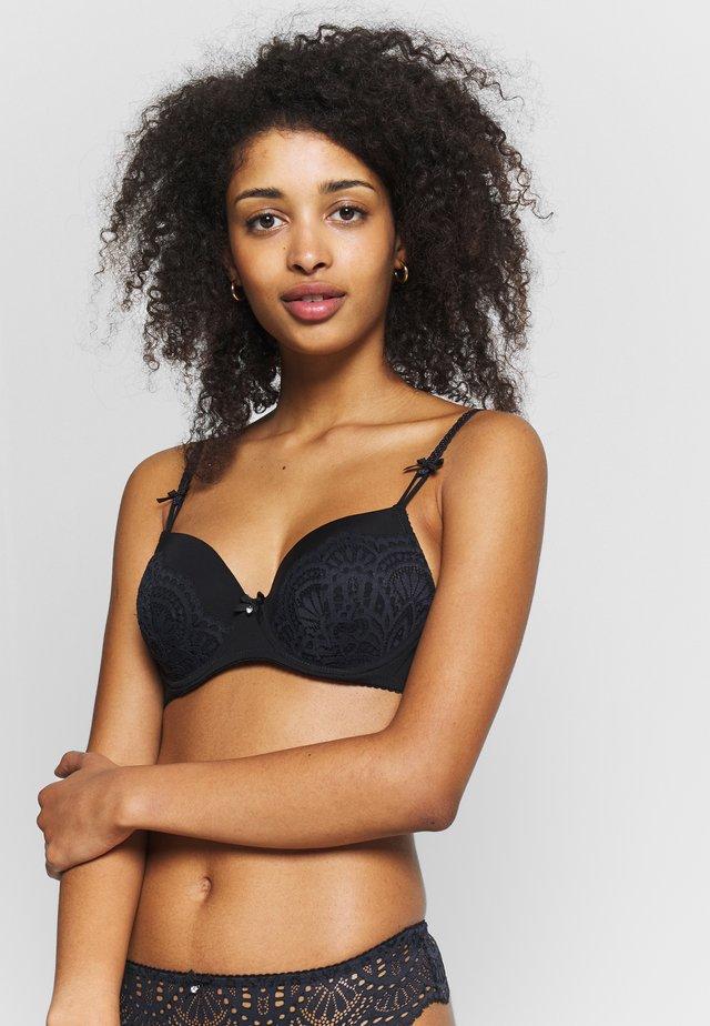 PADDED BRA - Underwired bra - black