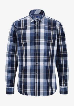 Shirt - navy-blau/weiß