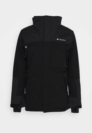 PARK RUN JACKET - Kurtka snowboardowa - black
