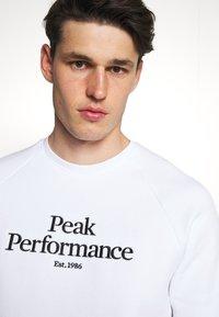 Peak Performance - ORIGINAL CREW - Sweatshirt - white - 3