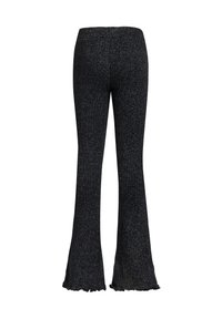 WE Fashion - Trousers - blended dark grey - 1