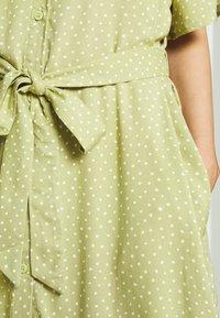 Monki - Shirt dress - green - 5