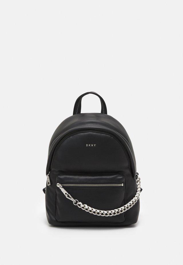 QUINN - Batoh - black/silver-coloured