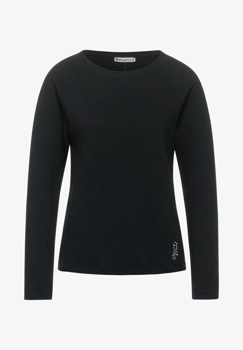 Street One - Long sleeved top - grau