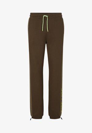Teplákové kalhoty - oliv