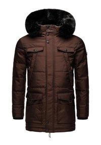 Navahoo - LUAAN - Winter coat - brown melange - 6