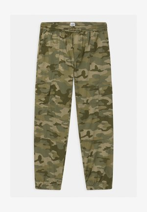 GIRLS  - Cargo trousers - khaki