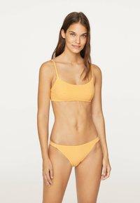 OYSHO - GINGHAM  - Bikinibroekje - yellow - 1