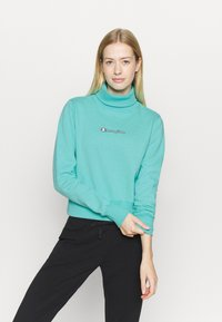 Champion - HIGH NECK ROCHESTER - Sweatshirt - turquoise - 0