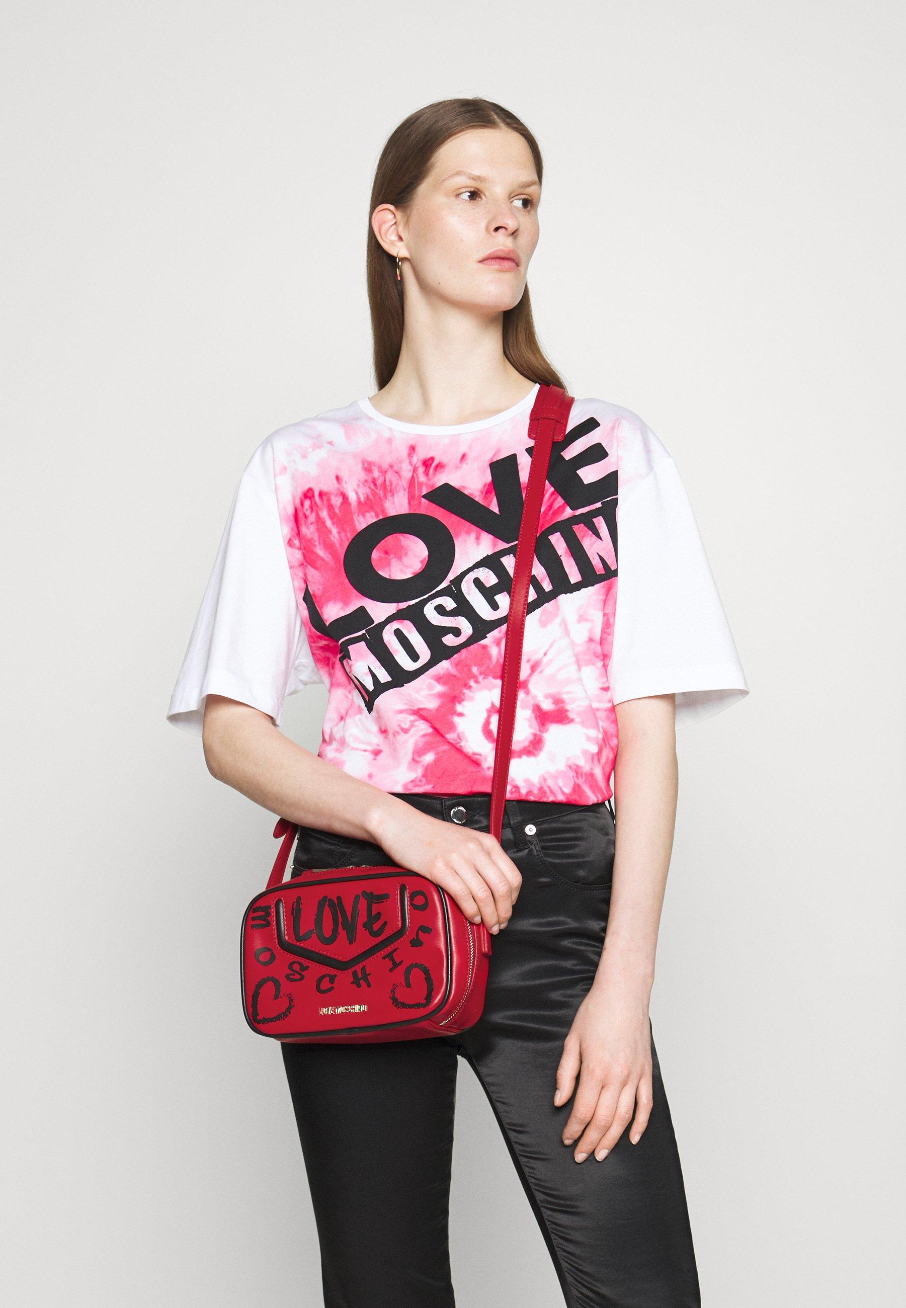 Women TOP HANDLE GRAFFITI CROSS BODY - Across body bag