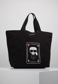 KARL LAGERFELD - SHOPPER - Shoppingveske - black - 0