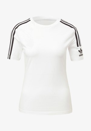 TIGHT T-SHIRT - Print T-shirt - white