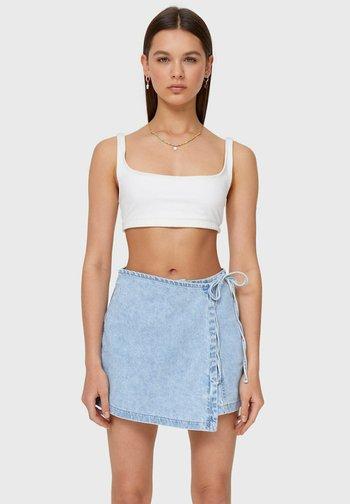 Shorts - blue denim