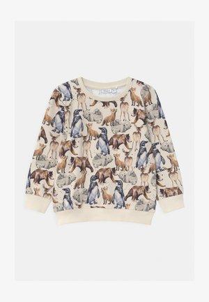 NMMSEWILO - Sweatshirt - peyote melange