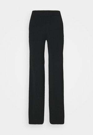 PARIS TROUSERS - Kalhoty - black