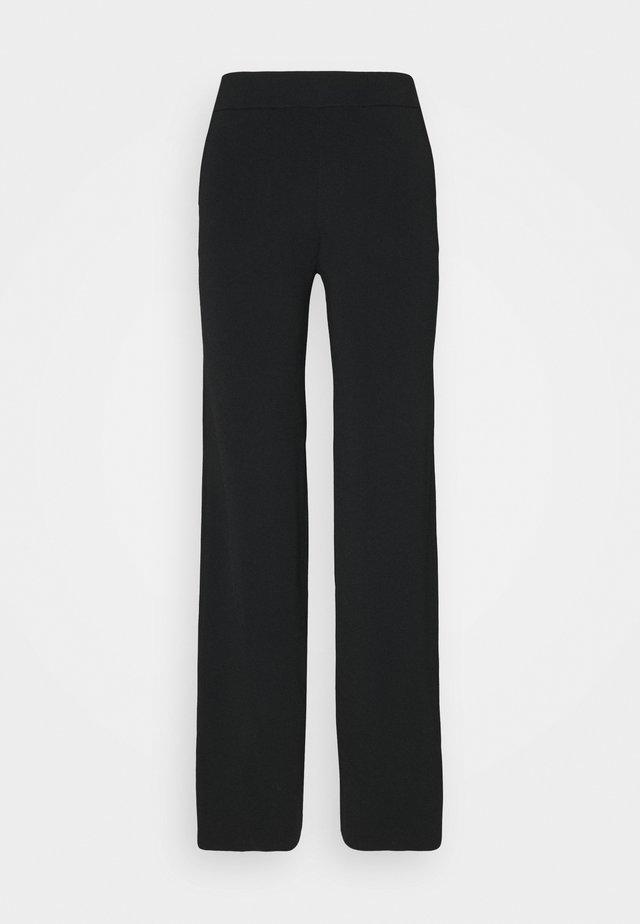 PARIS TROUSERS - Pantaloni - black