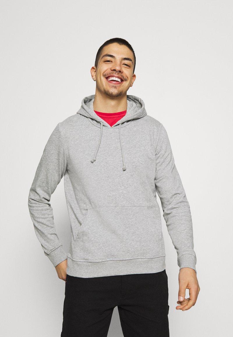 Brave Soul - CLARENCE - Sweatshirt - light grey marl