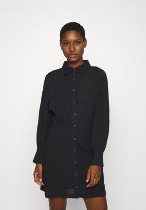 CLOUD DRESS - Košilové šaty - black