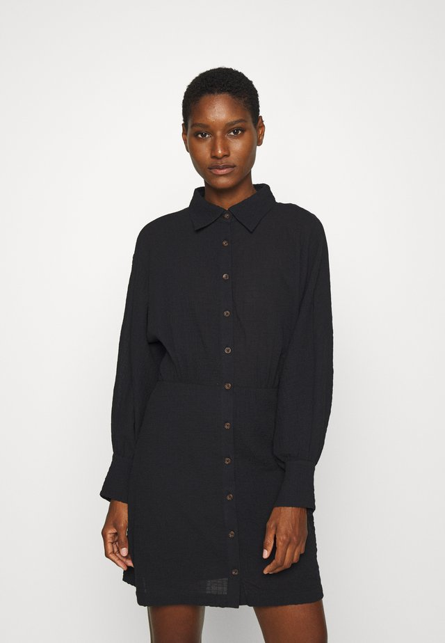 CLOUD DRESS - Shirt dress - black