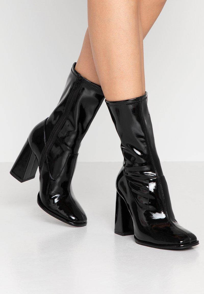 Even&Odd - Højhælede støvletter - black