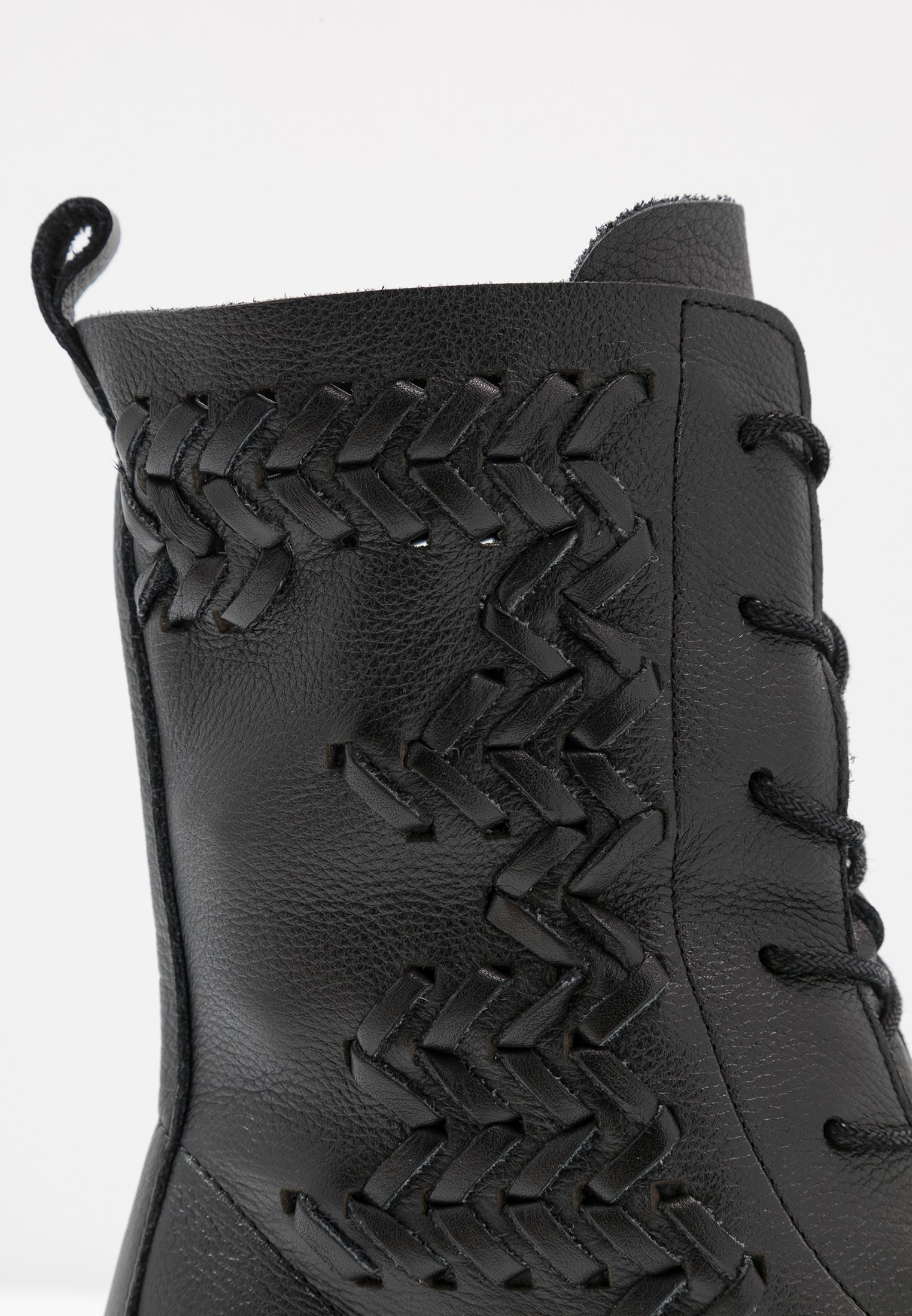 Inexpensive Cheapest Felmini GREDO - Lace-up ankle boots - light black | women's shoes 2020 A5Yrs