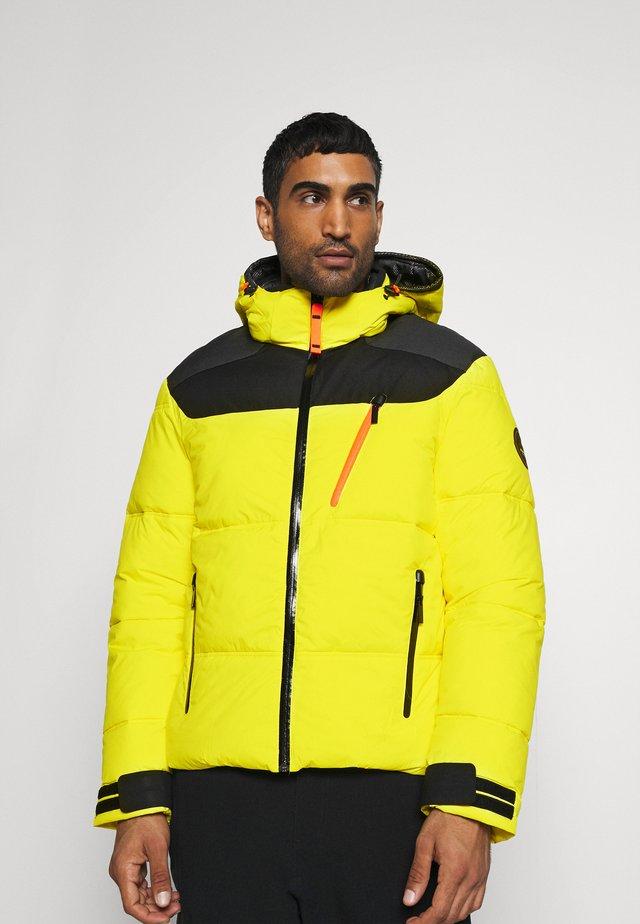 BRISTOL - Veste de ski - yellow