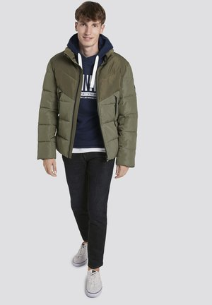 Winter jacket - tree moss green