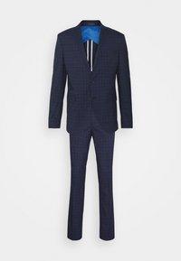 SLHSLIM KYLELOGAN SET - Suit - navy blue/light blue