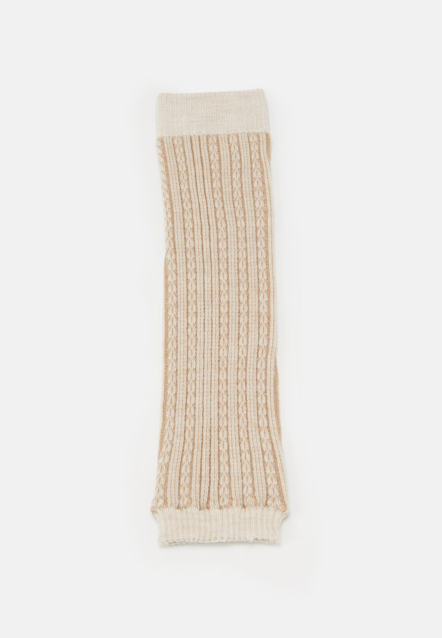 CHAIN STITCH - Leg warmers - beige
