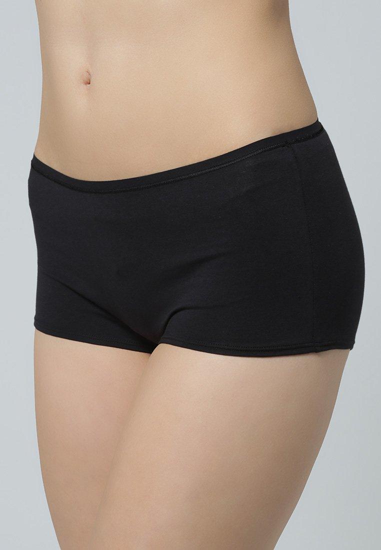 Calida - 2 PACK - Pants - schwarz