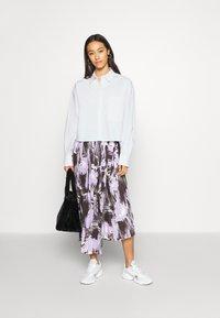 Monki - TAY SHIRT - Button-down blouse - white - 1