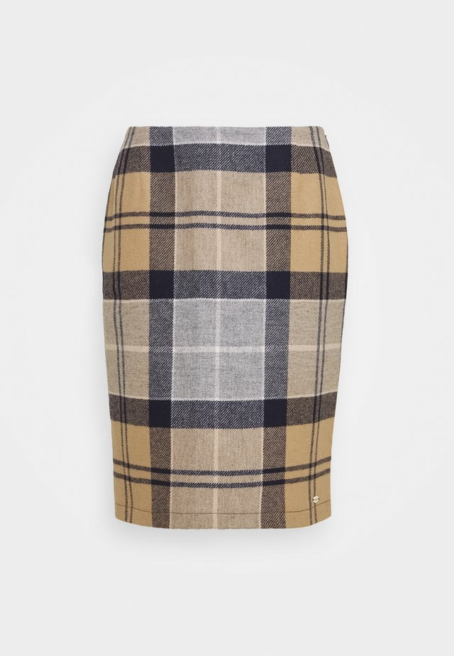 NEBIT PENCIL SKIRT - Pencil skirt - oatmeal