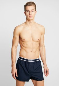 BOSS - 2 PACK - Boxer shorts - blue - 0