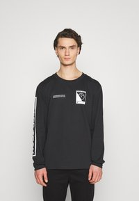 The North Face - STEEP TECH TEE UNISEX - Langærmede T-shirts - black - 0
