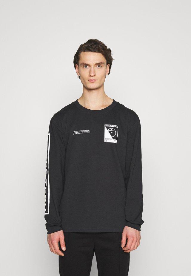 STEEP TECH TEE UNISEX - T-shirt à manches longues - black